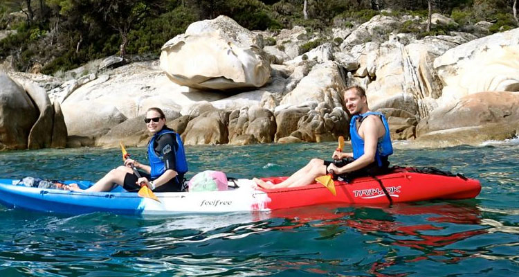 Half day Sea Kayaking Tour Armenistis – Kavourotripes