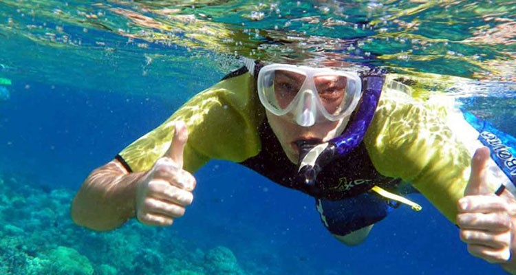 Snorkeling experience in Sithonia