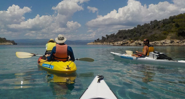 Full Day Sea Kayak Trip Vourvourou